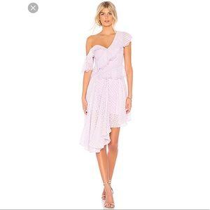 New w/ tags Revolve Bardot Dress lilac purple
